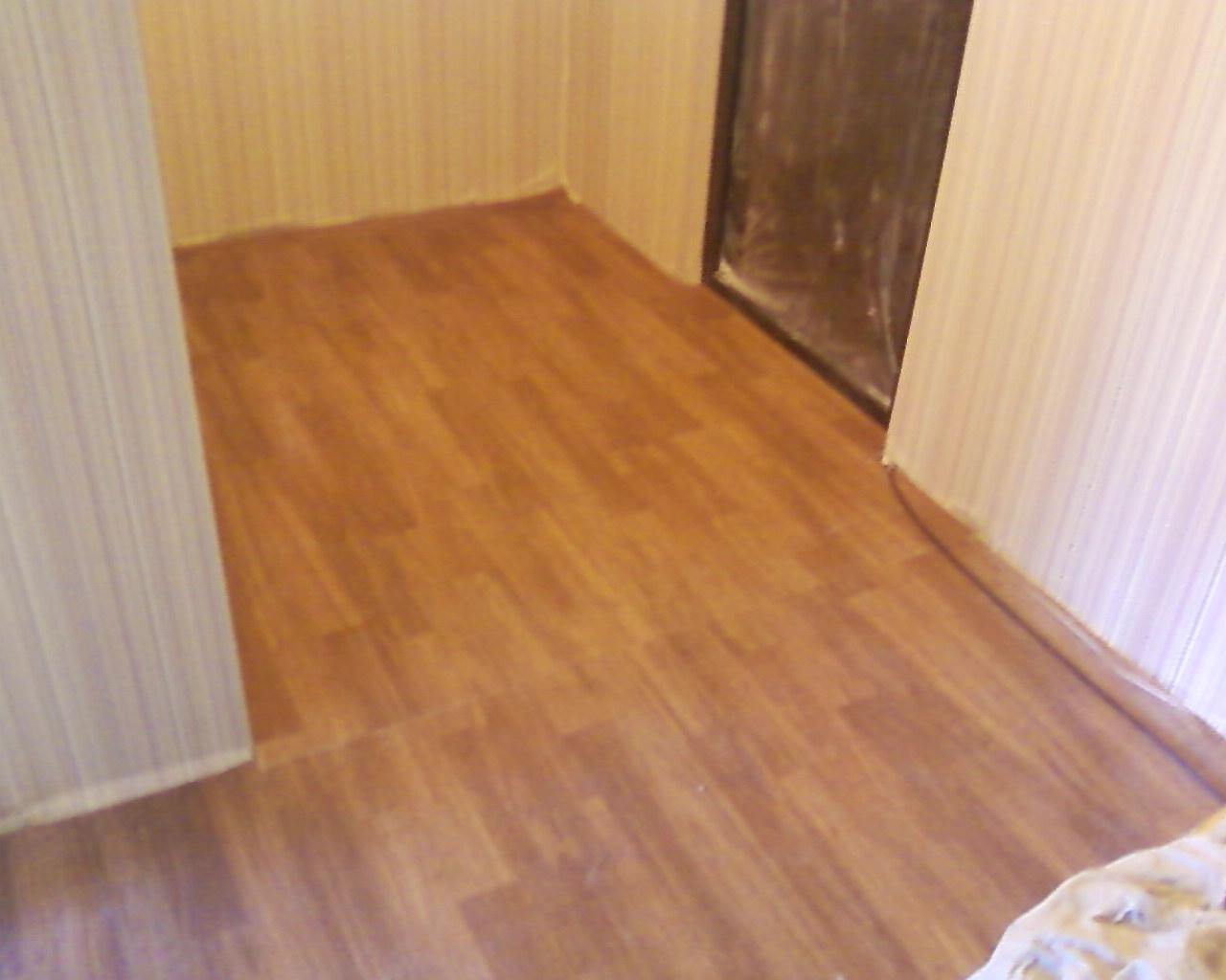 Линолеум дизайн в квартире реальные